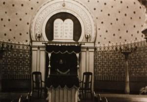 Innanaufnahme von der Ingelheimer Synagoge